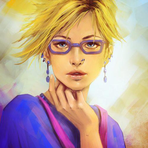 Izzy-portrait-martian-comic-marlena-mozgawa-lenamo-art