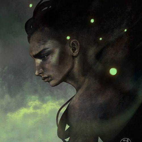 green-night-portrait-marlena-mozgawa-lenamo-art