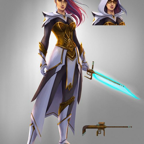 portfolio, character concept, outfit design, epic outfit, character sheet, digital painting, portrait, hand painted,