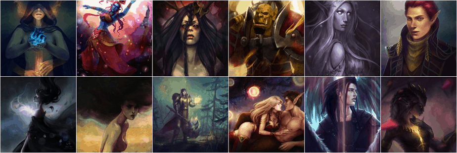 Lenamo's illustrations thumbnails
