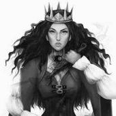 Character design portrait portraits queen crown portfolio Lenamo