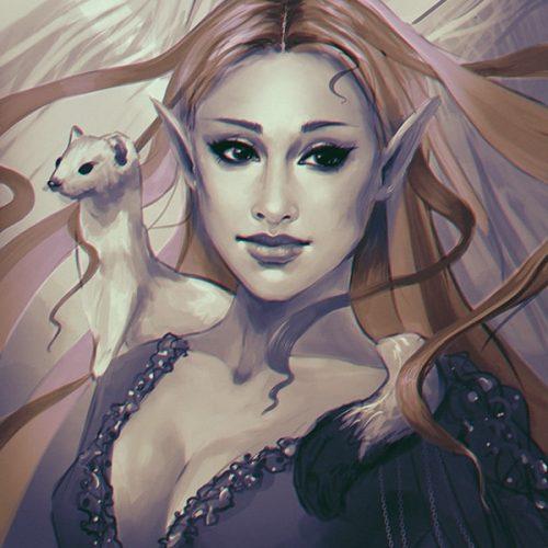adventure, wallpaper, ferret, illustration, digital painting, wow, world of warcraft, paladin, priest, magic, character painting, portrait, fantasy, character portrait, elf, bloodelf,