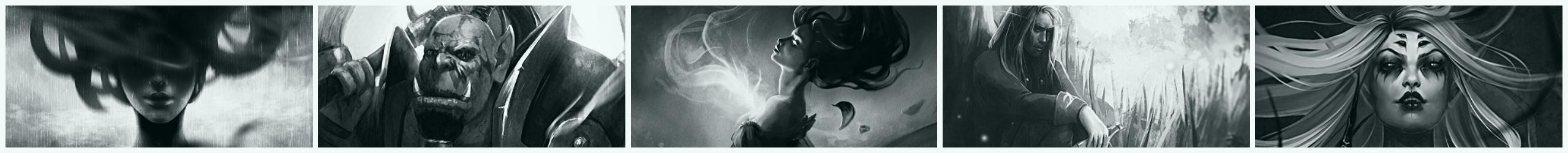 Lenamo's illustration black and white