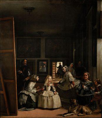 Las Meninas by Diego Velázquez, year 1656/1657