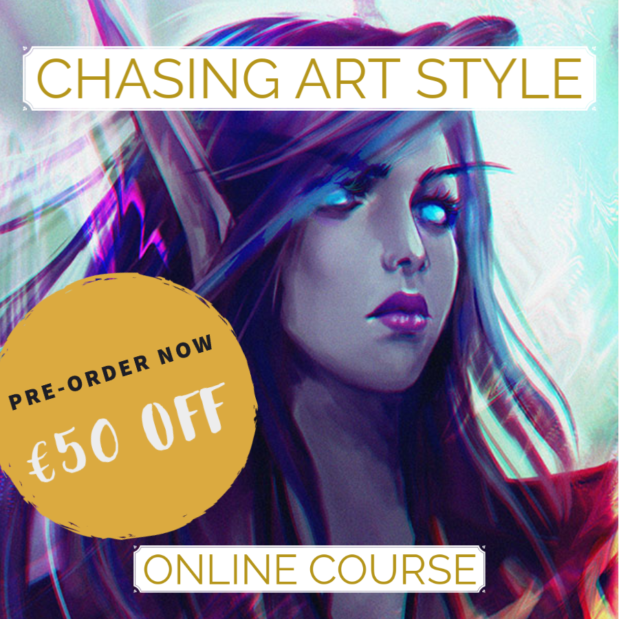 chasing art style online art course