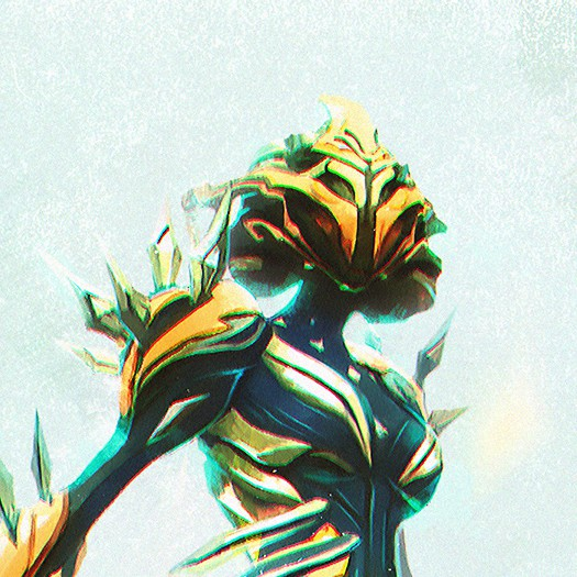 warframe, khora, wallpaper, yellow, green, robot, cyborg, warrior, future, futuristic, artisctic, close up